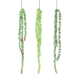 $enCountryForm.capitalKeyWord Australia - Artificial Leaves Plastic Plant Wall Hanging Vine Flower Home House Garden Decor