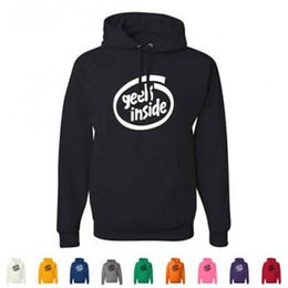 LoL hoodie online shopping - Geek Inside Funny Intel Computer Logo Nerdy LOL IT Tech Pullover Hoodies