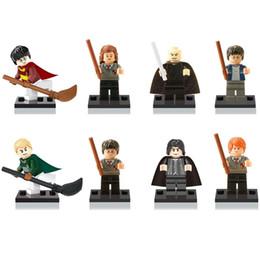 Block Build Australia - Harry Potter Hermione Ron Professor Snape Malfoy Lord Voldemort Mini Toy Figure Model Building Block Brick