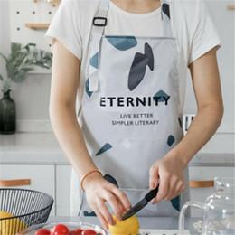 $enCountryForm.capitalKeyWord Australia - Kitchen Aprons With Front Pocket Adjustable Cooking Baking Cute Bib Dress Kitchen Restaurant Chef Cooking Waterproof Cute Bib