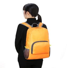 4532f046fcc9 7 Colors Lightweight Foldable Waterproof Women Men Backpack Skin Pack Travel  Outdoor Sports Camping Hiking Bag Rucksack