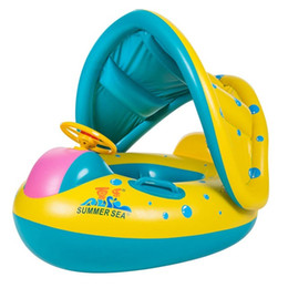 $enCountryForm.capitalKeyWord Australia - Inflatable Baby Kids Swimming Ring Summer Swimming Pool Swan Swim Float Water Fun Pool Toys Swim Ring Seat Boat Sport for 3-6Y