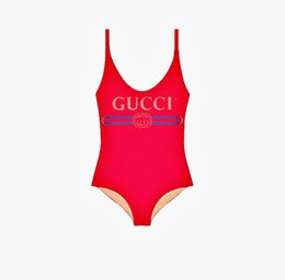 Fashion Bikini Swimwear Australia - 19SS Summer Luxury Women Bikini with Letters Fashion Designer Swimwear for Women Brand Bathing One-piece Suit Sexy Backless Beachwear