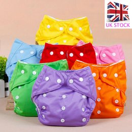 kids diapers UK - Infant Baby Newborn Kids Diaper Cover Adjustable Reusable Nappies Cloth Wrap Diapers