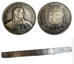 $enCountryForm.capitalKeyWord Australia - Switzerland (Confederation) 1950 Silver 5 Francs (5 Franken) Copy Coin diameter:31.45mm Wholesale
