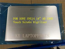 "Wholesale For Sony Vaio SVE14A SVE14 14"" Touch Screen Digitizer SVE14AE13L SVE14A27CXH Silver"