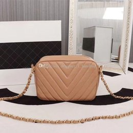 French Leather Bags Australia - New Crossbody 2019 Designer French Famous Brand Designer Luxury Chain Bag High Quality Leather Women s Shoulder Bag