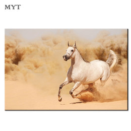 $enCountryForm.capitalKeyWord Australia - Animal Canvas Printing Wall Painting open country Horse Running HD printed Picture Home Decor for Living Room Oil Painting Unframed