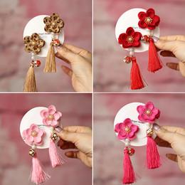 $enCountryForm.capitalKeyWord Australia - Cute Children Hair Chinese style Clip Hair Barrettes Accessories Headwear Kids Baby Girls pins Full Cover Clips BB024
