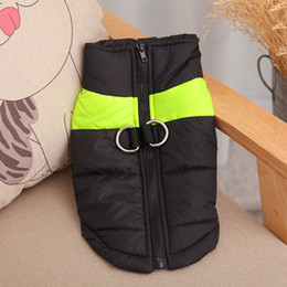 $enCountryForm.capitalKeyWord Australia - Waterproof Pet Dog Puppy Vest Jacket Chihuahua Clothing Warm Winter Dog Clothes Coat For Small Medium Large Dogs 4 Colors S-5XL