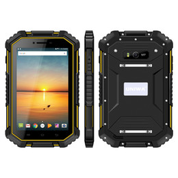 tablet pc quad NZ - UNIWA HV2 IP67 Waterproof NFC 4G Rugged Tablet PC 7 Inch MTK8732 Quad Core 2GB RAM 16GB ROM android 4.4 super smart tablet pc