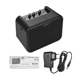 Guitar Cleaning Australia - JOYO MA-10E Mini Electric Guitar Amplifier Portable Guitar Amp Speaker 10Watt OD Clean Dual Channels guitars electric