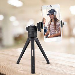 Dslr Slr Camera Australia - New Desktop Mini Tripods Aluminum for Phone DSLR SLR Camera with Gradienter