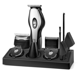 beard trimming kits Australia - Beard Trimmer Men Beard Trimmer Kit With Stand Waterproof 11 In 1 Multifunctional Grooming Set With Hair Clipper
