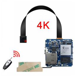 wifi mini cmos cameras NZ - Real 4K Micro 16MP Wifi Ap Hotspot Wide Angle Camera RC Wireless P2P Video Mini DV Module Camcorder Recorder