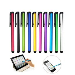 Mini Touch Screen Stylus Australia - Factory price E418 10pcs Capacitive Touch Screen Stylus Pen For IPad Mini 2 3 4 For iPhone 4s 5 6 7 Samsung Universal Tablet PC Smart Phone