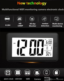 $enCountryForm.capitalKeyWord NZ - 1080P HD night vision WiFi network alarm clock mobile phone remote viewing monitor baby caregiver nanny monitor night vision no light