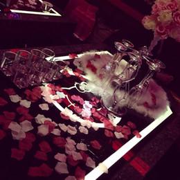 $enCountryForm.capitalKeyWord Australia - 500pcs Fake Flowers Rose Petals Wedding Decoration Artificial Flowers Silk Flower Decoration Decorative Flowers And Wreaths