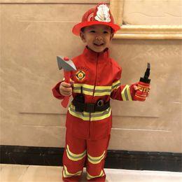 $enCountryForm.capitalKeyWord UK - Halloween Costumes for Kids Firefighter Uniform Carnival Party Festival School Firemen Fire Drill Teenager Performance Clothing