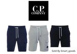 19ss cp empresa cp calças curtas personalidade homens mulheres obrigado calções em Promoção