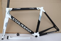 54cm frame Canada - New Black White Colnago C64 carbon road frame T1100 full carbon bicycle Frameset more 20 colors