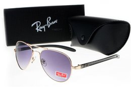 Ray Bans Glasses Australia - 2019 Men Women Ben Glass bain Lenses With Case Brand ray Sunglasses Vintage Pilot wayfarer bans Sun Glasses