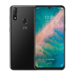 "Discount hotknot android cell phones - Original ZTE Blade V10 4G LTE Cell Phone 4GB RAM 64GB 128GB ROM Helio P70 Octa Core 6.3"" Full Screen 32.0MP Fingerp"