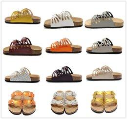 $enCountryForm.capitalKeyWord NZ - Arizona hot summer men s sandals flat shoes cork slippers single sex casual shoes, various colors, Beach shoes34-47