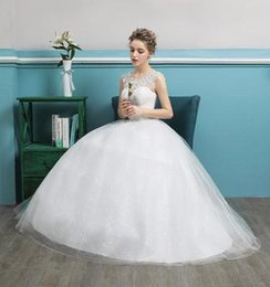 $enCountryForm.capitalKeyWord NZ - 2018 Muslim Wedding Dresses Cheap Sexy Backless A Line Sleeveless Applique Pleats Sweep Train with Sash White Lace Formal Bridal Gowns