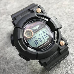 Wholesale G Style Sport Watches Solar Energy Automatic Light Men s Military Watch LED Digital All Function Work Waterproof Shock Watches Hot Sellinng