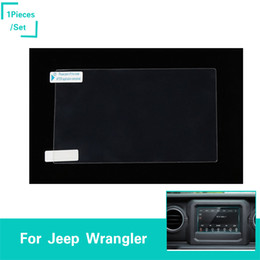 Factory Screen Protectors Australia - Car Navigation Screen Protector For Jeep Wrangler JL 2018+ Factory Outlet High Quatlity Auto Interior Accessories