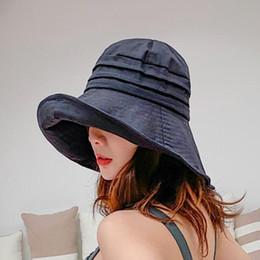 9b906aa1 Wholesale Floppy Hats For Women Australia - Cotton Sun Hat For Women Solid  Casual Beach Cap