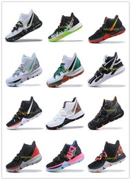 Clear Balls Australia - Irving 2019 Limited 5 Men Basketball Shoes 5s Black Magic For Kyrie Chaussures De Basket Ball Mens Trainers Sneakers Zapatillas 40-46 v04
