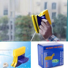 $enCountryForm.capitalKeyWord Australia - Magnetic Window Cleaner Brush Double Side Glass Wiper Cleaner Cleaning Brush Home Pad Scraper Clean Tool GGA2252
