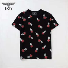 $enCountryForm.capitalKeyWord UK - Summer Designer T Shirt Flower Embroidery For Men Casual Brand Breathable Tees For Men Fashion Style Short Sleeves Luxury Streetwear T Shirt