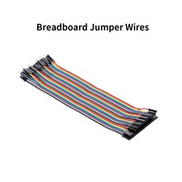 dupont wire male 2019 - 40PIN Dupont Line 20CM Female to Male and Female to Jumper Wire Dupont Cable for arduino DIY KIT Breadboard cheap dupont