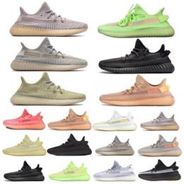 Zebra shoes styles online shopping - New Style Antlia Lundmark Synth GID Clay Running Shoes For Men Women Semi Frozen Yellow True Form Static Zebra Beluga Sesame Sneakers