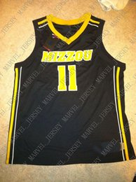 2ce17f38d8d2 Cheap custom Missouri Tigers Basketball Jersey Stitched Customize any  number name MEN WOMEN YOUTH XS-5XL