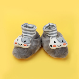 Girls Infants Shoes Australia - Baby Shoes Warm Animal Decor Baby Boys Girls Shoes Cute Pure Cotton Infant