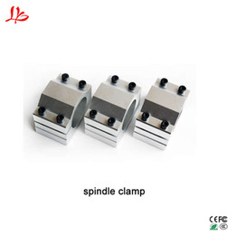 spindle part UK - LY CNC machine parts spindle clamp 52mm 57mm 65mm 80mm aluminum motor bracket