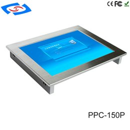 Intel one pc online shopping - 100 Well Tested quot Fanless Industrial Touch Screen All In One Panel PC With RS485 Or RS232 Serial Port Tablet pc
