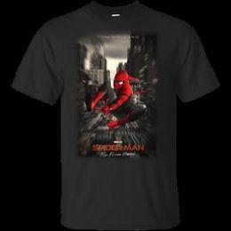 $enCountryForm.capitalKeyWord Australia - Tom Holland Spider Man Far From Home Posters T-Shirt BlaWholesale-Navy Men-Women S-5...