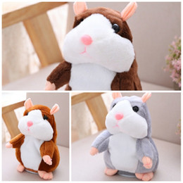 $enCountryForm.capitalKeyWord Australia - Learn To Speak Electric Hamster Plush Toy Shock Nod Lovely New Exotic Doll Creative Child Gift Exquisite Small 15 Cm 17yb I1