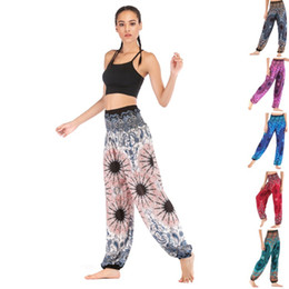 $enCountryForm.capitalKeyWord Australia - Women's casual Pants Thai casual yoga pants, bloomers, yoga clothes, women's cotton 6 patterns free shipping