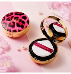 $enCountryForm.capitalKeyWord Australia - Makeup Leopard Print Cushion BB Cream Natrual And Ivory Color Face Perfect Air Cushion Cream With Refill Set