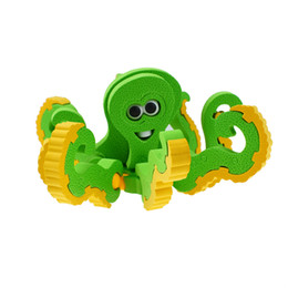 Puzzle blocks for kids online shopping - 3D Assembly Octopus Shape Blocks Puzzle Toy for Kids