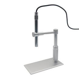 $enCountryForm.capitalKeyWord Australia - 500X 8LED 2MP USB Digital Microscope Video Webcam Magnifier Camera Stand Microscoop Endoscope Camera Microscopio
