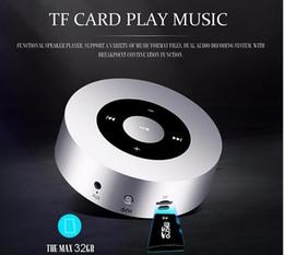 $enCountryForm.capitalKeyWord Australia - A8 mini portable handree supper bass stereo wireless bluetooth v4.2 speaker smart touch keys metal mp3 music player with mic 50PCS YX-A8-5