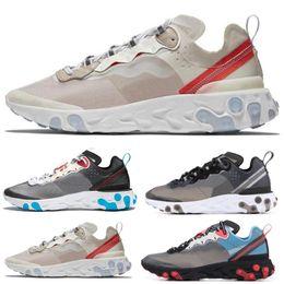 $enCountryForm.capitalKeyWord NZ - 2019 Total Orange AIR React Element Running Shoes For Women men Dark Grey Blue Chill Trainer Sail Green Mist Sports Sneakers