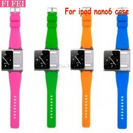Packages For Wrist Watch Australia - FI FEI Wrist Strap Watch Band For iPod nano 6 For ipod nano6 With Retail Package 9 colors Silicon Wrist Bracelet Strap Watchband